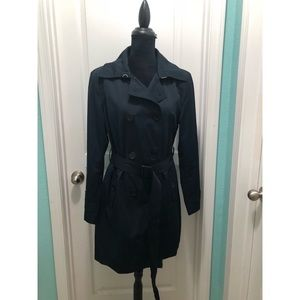 Michael Kors Navy Blue Coat